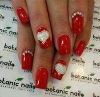 40 Red Wedding Nail Art Designs   Nail Design Ideaz