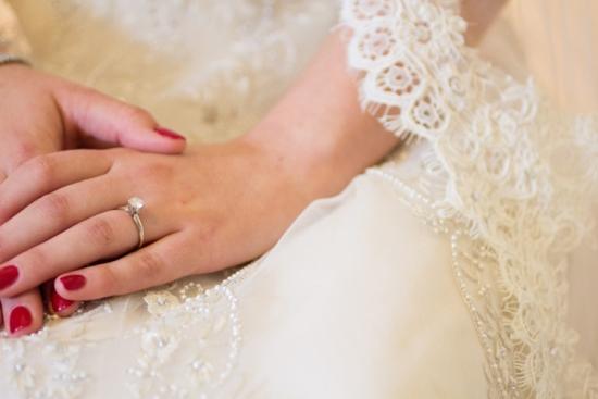 Red Wedding Nail Designs