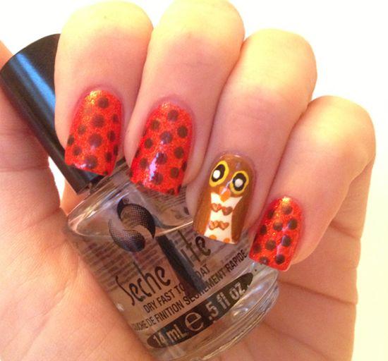 Fall Nails Designs