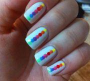 gorgeous rainbow nail art ideas