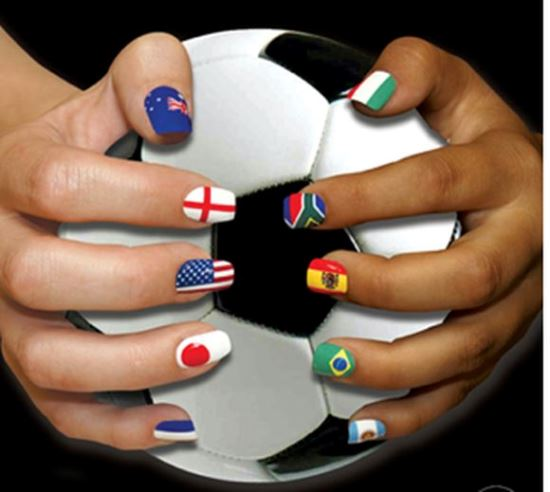 Football Nail Ideas