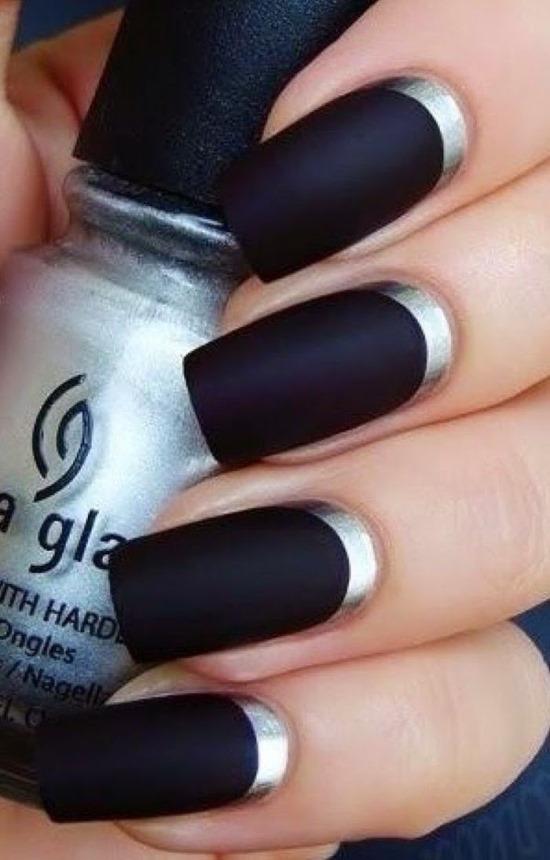 Silver Nail Art Designs