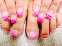 Pics For > Toe Nail Designs For Valentines Day