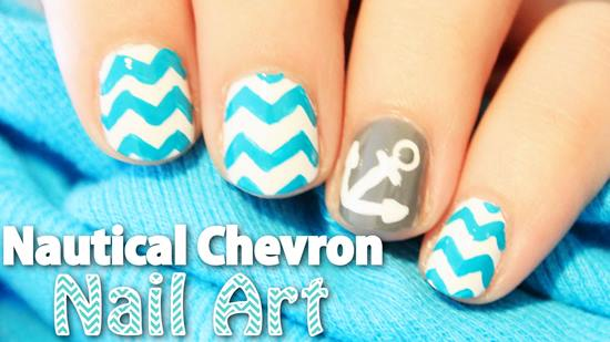 Anchor Nail Designs
