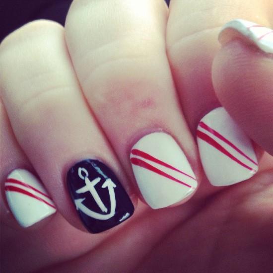 Anchor Nail Designs