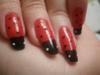 42 Cute Ladybug Nail Art Designs | Nail Design Ideaz
