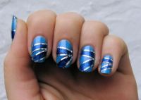 40 Killer Striping Tape Nail Art Designs