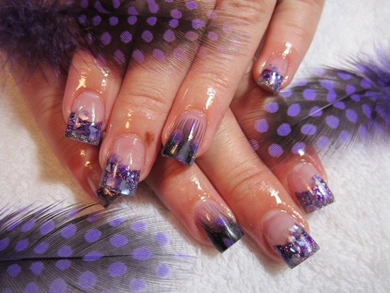 Feather Nail Designs