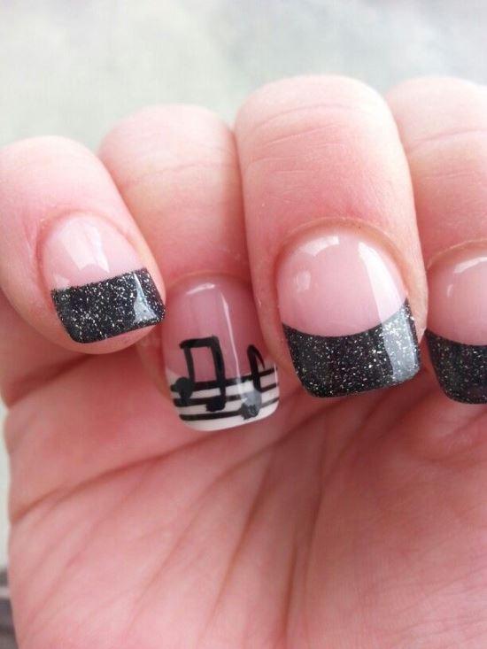 Music Nail Art