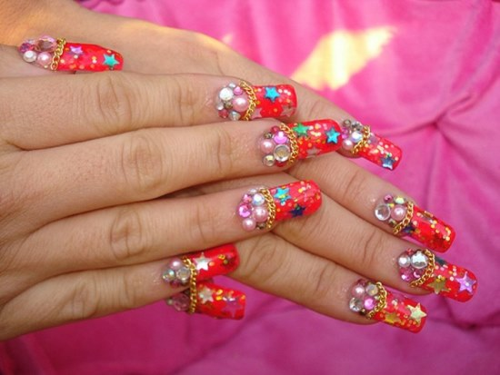 Prom Nail Designs