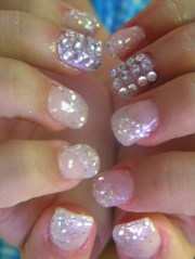cool prom nail design