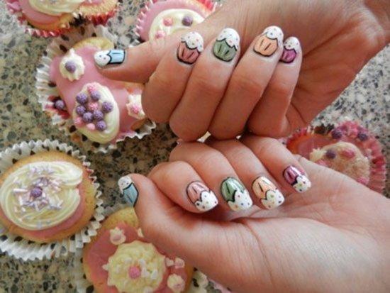 Birthday Themed Nail Art