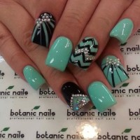 45 Cute Mint Nail Art Ideas for Summer