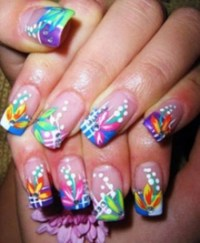 50 Tropical Nail Art Designs For Summer | Nail Design Ideaz