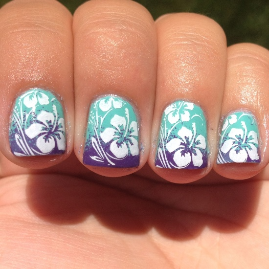 50 Tropical Nail Art Designs For Summer