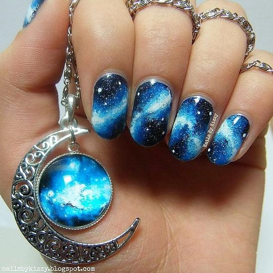 Galaxy Nail Designs