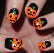 halloween nail art tutorials