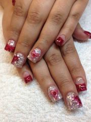 gorgeous valentines day acrylic