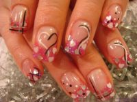 45 Gorgeous Valentines Day Acrylic Nail Designs