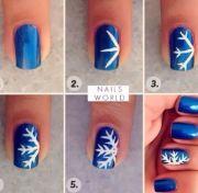 easy winter nail art tutorials