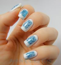 20 Easy Winter Nail Art Tutorials   Nail Design Ideaz