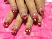 gorgeous valentines day acrylic
