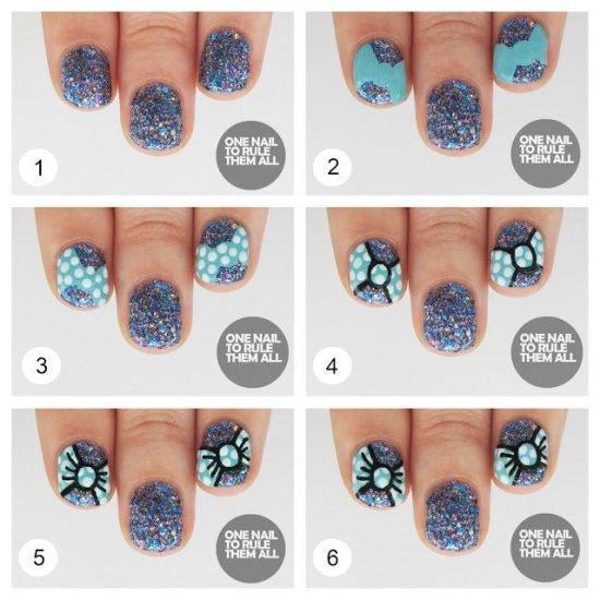 Image Led Remove Glitter Nail Polish Step 5 Preview