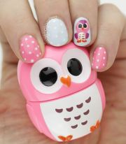 rocking owl nail art tutorials