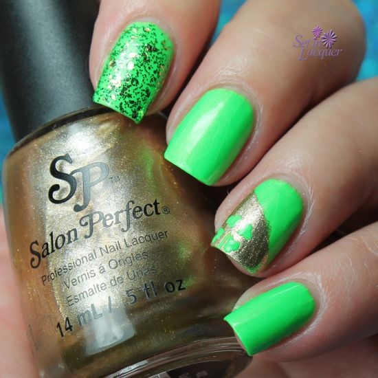 31 Glam St.Patrick's Day Nail Designs | Nail Design Ideaz
