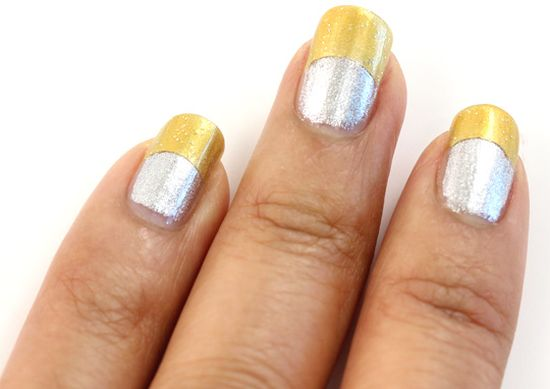 Fantastic Glitter Nail Art Pens Thick All About Nail Art Regular How To Dry Nail Polish Easy Nail Art For Beginners Step By Step Young Nail Polish And Pregnancy RedNail Fungus Finger 35 Stunning Two Tone Nails Designs | Nail Design Ideaz