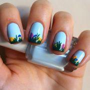 rocking easter nail art design