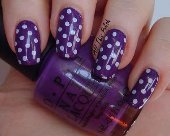Charming Robin Nail Art Thick About Opi Nail Polish Flat Gel Nail Polish Colours Nail Of Art Youthful Nail Art For Birthday Party ColouredNail Art Services 37 Amazing Purple Nail Designs | Nail Design Ideaz