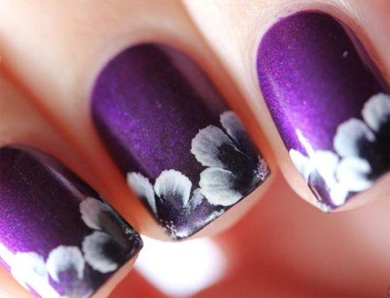 Purple Nail Polish