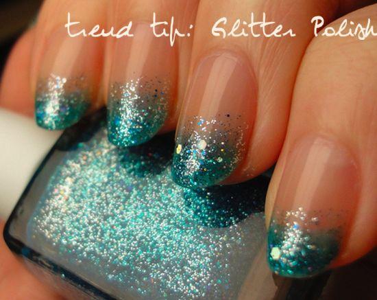 Stunning Glitter Tip Nail Art For 2017