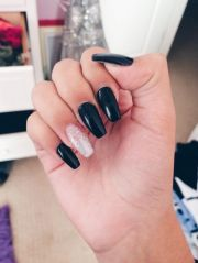 killer coffin nail design