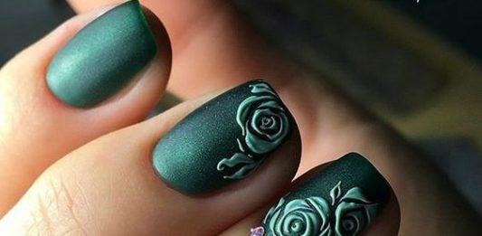 40 Captivating 3d Fl Nail Art Designs