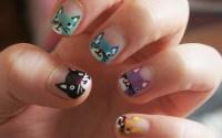 45 Purrfect Kitty Cat Nail Art Design | Nail Design Ideaz ...
