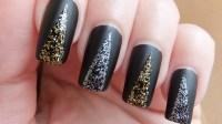 30 Exquisite Black Prom Nails   Nail Design Ideaz