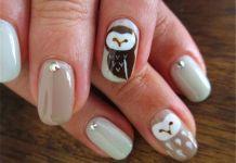 Black and Brown Nail Designs