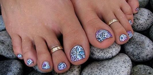40 sassy toe nail ideas - Toe Nail Designs Ideas