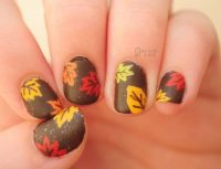 Thanksgiving Nail Designs Archives | Nail Design Ideaz