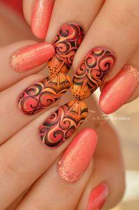 30 Swirl Nail Art | Nail Design Ideaz