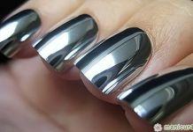 chrome nails diy
