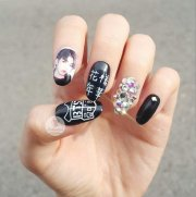 bts nails over