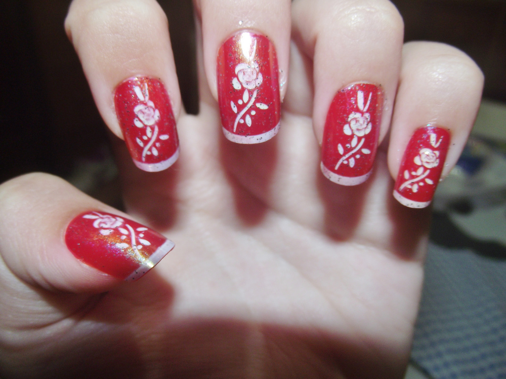 Red Nail Designs and Nail Art
