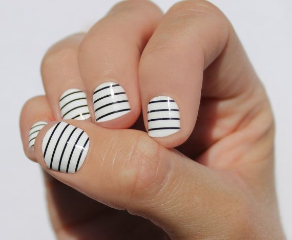 23 Striped Nail Designs And Tutorials