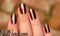 23 Striped Nail Designs and Tutorials - Nail Designs For You