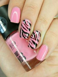22 Zebra Print Nail Designs - Nail Designs For You