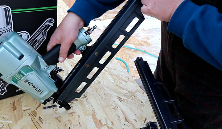 How to calculate the HP for Framing Nail Gun