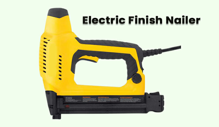 best electric finish nailer